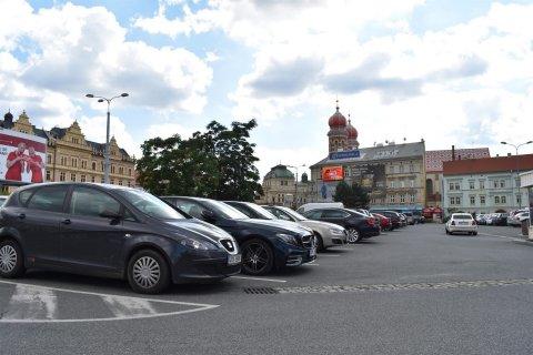 Car Park at Sady Pětatřicátníků